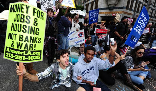 Wall Street eylemcisine hapis cezası