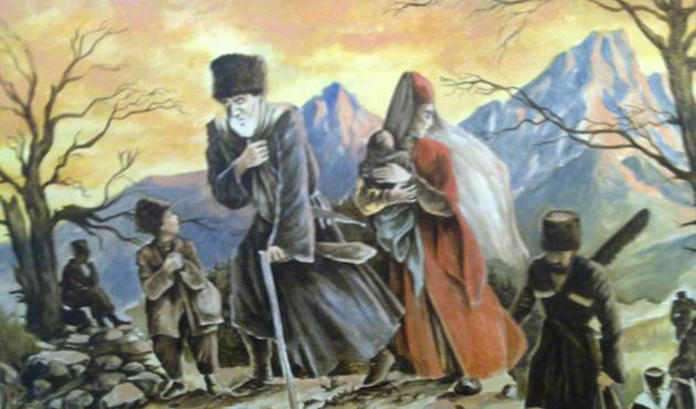Büyük Çerkes sürgünü 150'nci yılında