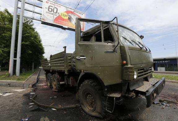 Donetsk'teki bombalı saldırıda ölü sayısı 3 oldu