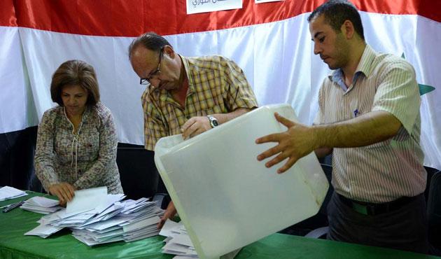 Suriye'de seçimler tamamlandı