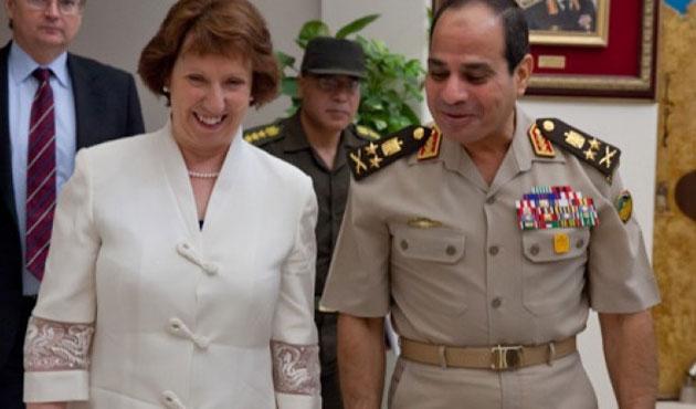 Sisi'ye bir destek de AB'den