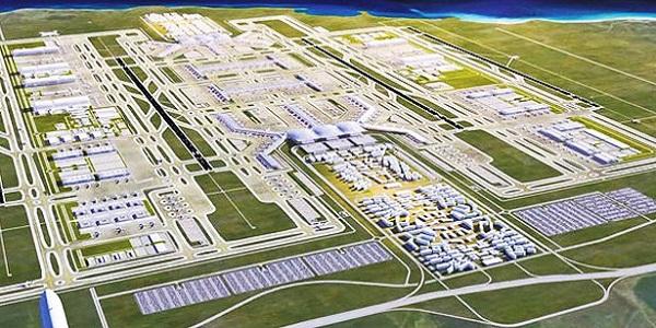Üçüncü havalimanına kısmi durdurma