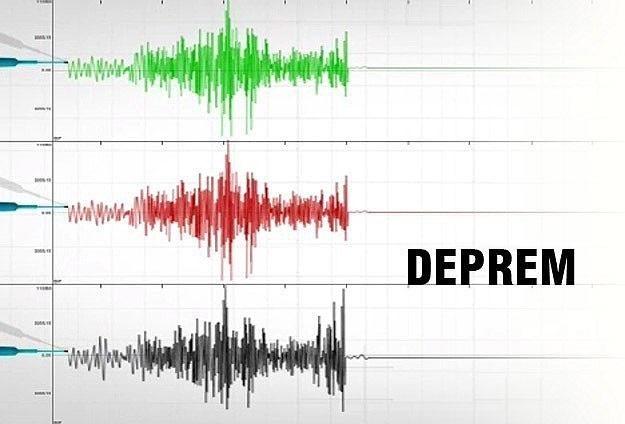 Burdur'da 4,8 şiddetinde deprem