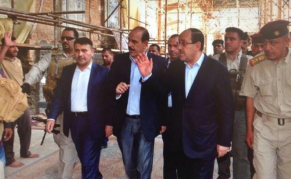 Maliki, dün Samarra'daydı