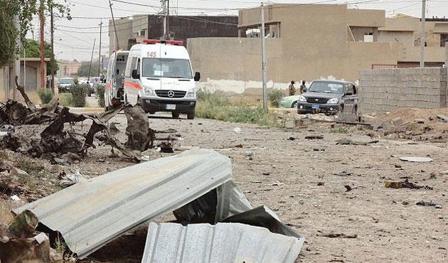 Bağdat'ta bomba yüklü araçla saldırı