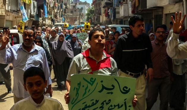 Mısır'da idam kararlarına protesto
