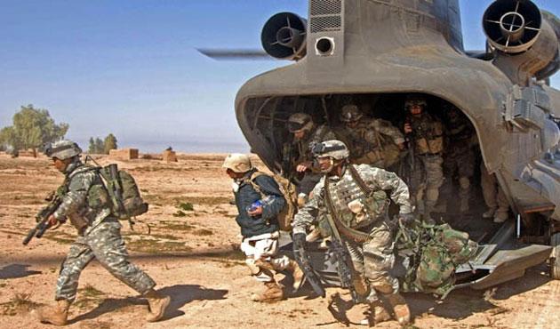 ABD'nin Irak'a gönderdiği askerler görev başında