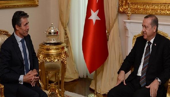 Başbakan Erdoğan Rasmussen'i kabul etti