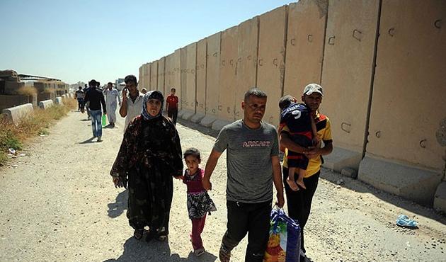 Türkmenler, Telafer'i terk ediyor