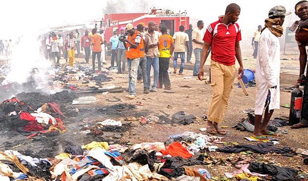 Nijerya'da pazar yerinde patlama: 50 ölü