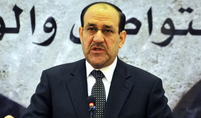 Maliki'den yeni hükümete evet, uzlaşı hükümetine hayır