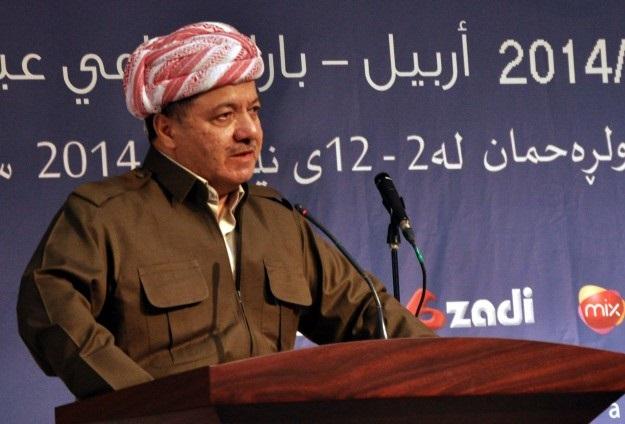 Mesud Barzani Ankara'da