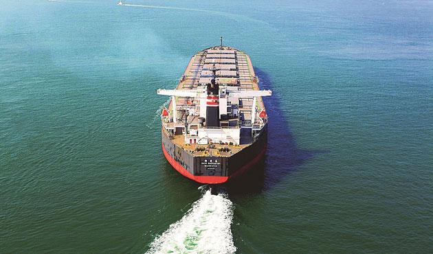 Kuru yük gemisinde 121 kaçak yakalandı