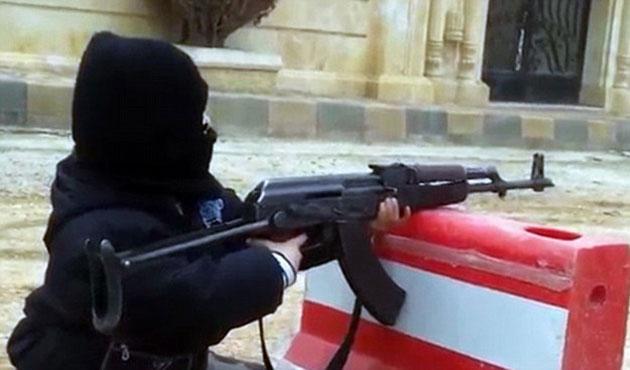 Suriye ve Irak'ta çocuklar da savaşıyor