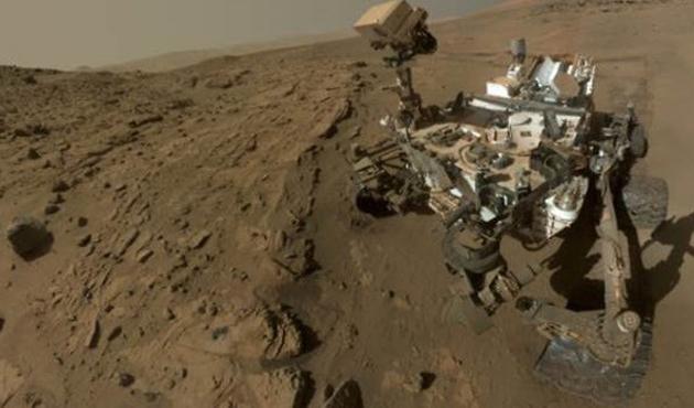 Mars'tan 'selfie' fotoğraf geldi