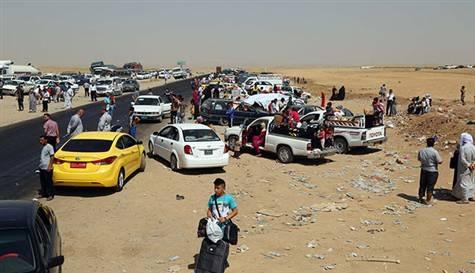 IŞİD baraj kapaklarını açtı, 10 bin aile evini terk etti