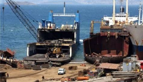 Hurda gemilerden 38 milyon TL