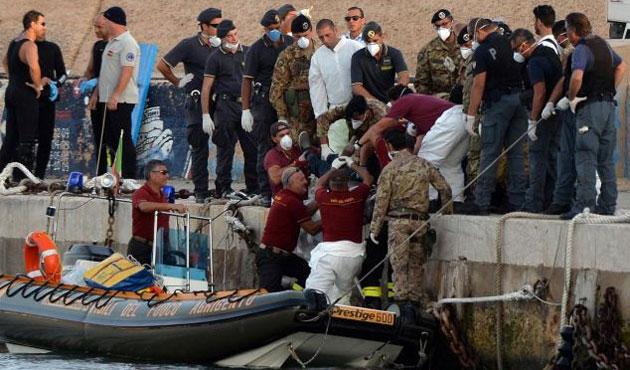 İtalya'da yeni bir göçmen faciası