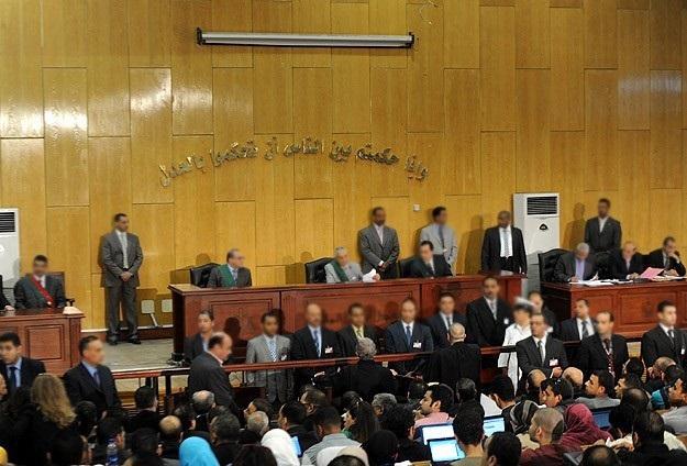 Mısır'da hakim davadan çekildi