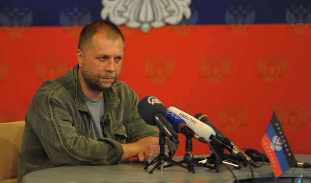 Donetsk Cumhuriyeti Başbakanı istifa etti