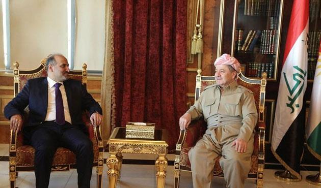 SMDK Başkanı Carba, Barzaniyle görüştü