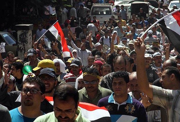 Mısır'da polis 1 göstericiyi öldürdü