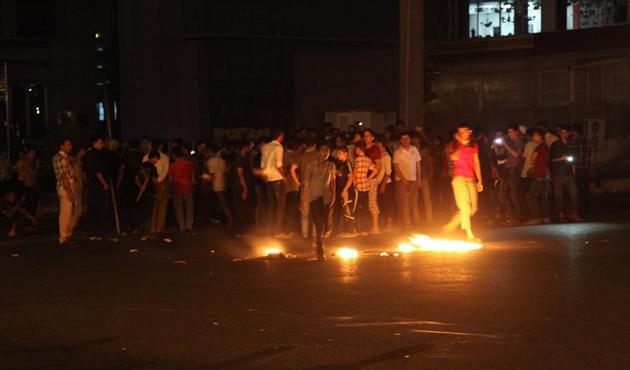 Irak'ta akaryakıt protestosu