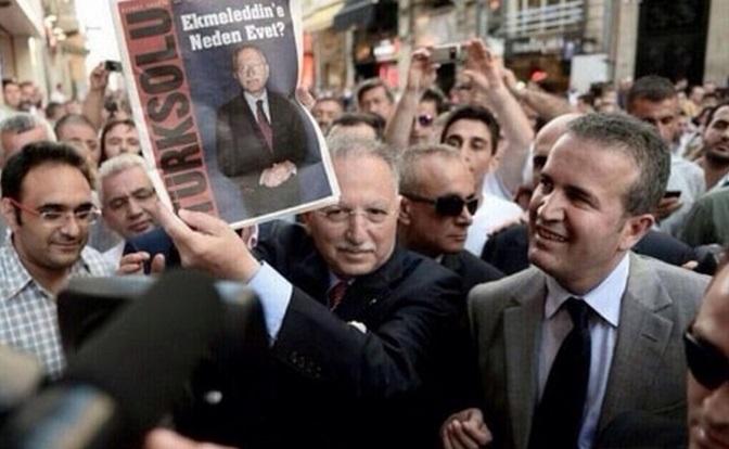 Türk Solu'ndan İhsanoğlu'na savunma
