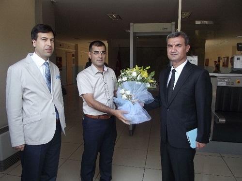 Akhisar Adliyesi'ne HSYK'dan ziyaret