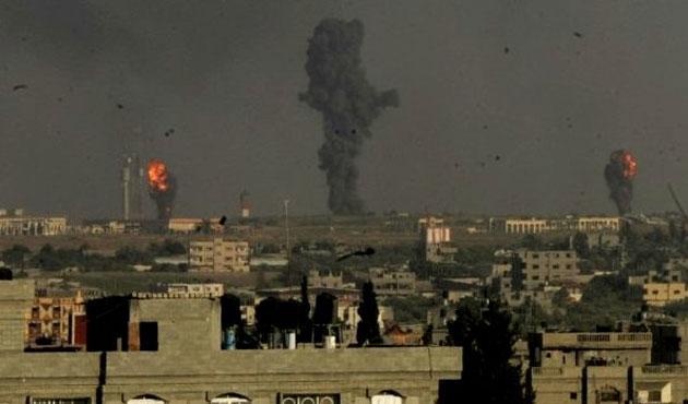 Gazze'ye hava saldırılarında iki günde 22 ölü-VİDEO