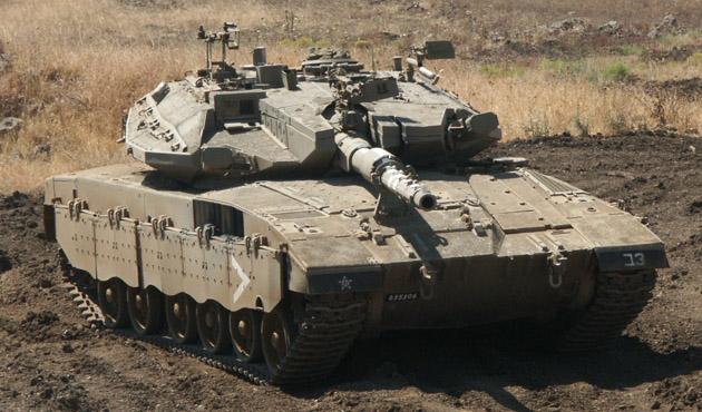 Kassam Tugayları İsrail tankını vurdu