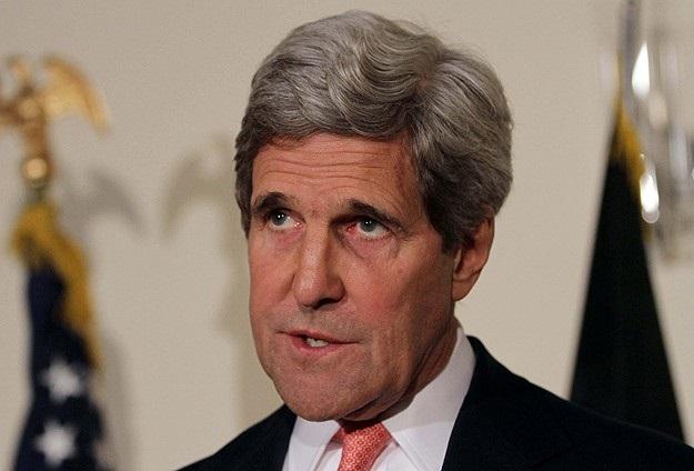 Kerry, Şimon Peres ile görüştü