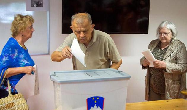Slovenya'da 1 aylık parti seçim kazandı