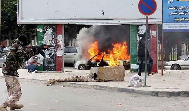 Libya'da çatışmada 11 kişi öldü