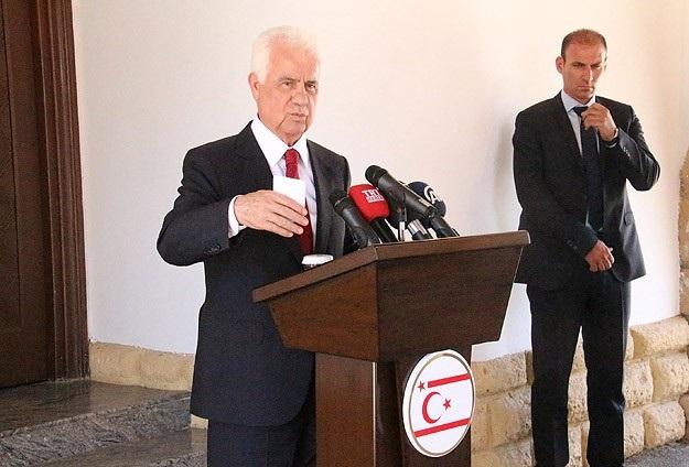Eroğlu: Müzakereleri anlaşmayla bitirme düşüncesindeyiz