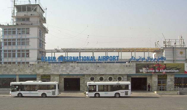 Afganistan'da havalimanına saldırı: 5 ölü