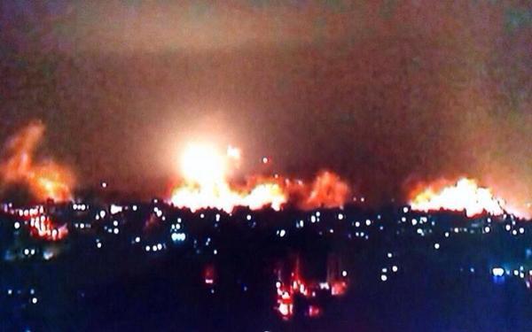 Gazze'nin doğusuna yoğun bombardıman
