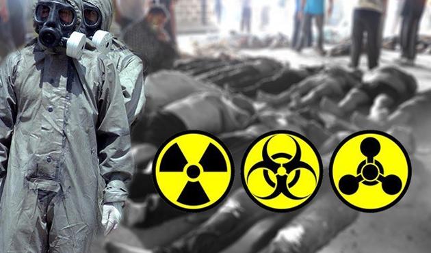 Suriye ordusu klor gazlı varil bombası ile saldırdı