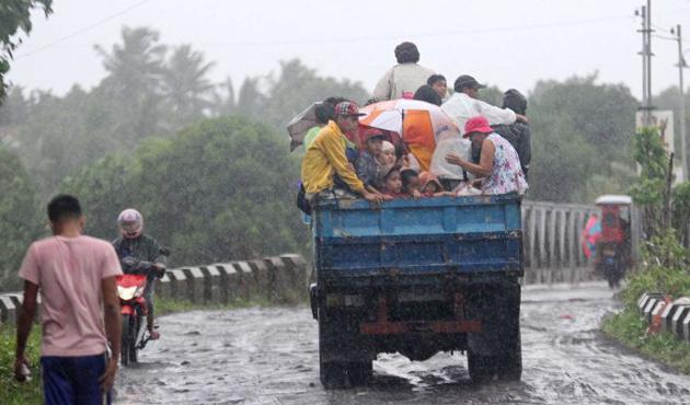 Çin'de yeni tayfun alarmı