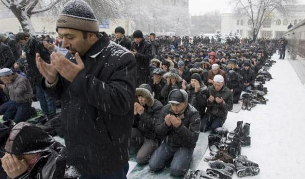 Rusya'daki Müslümanlar cami istiyor