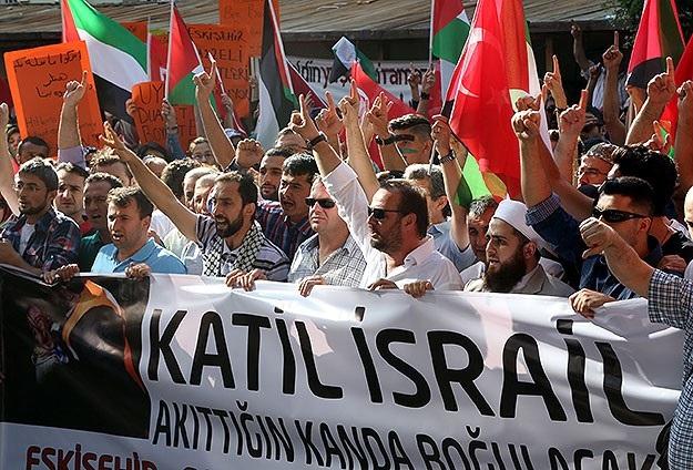 İsrail'in katliamına tepkiler çığ gibi büyüyor