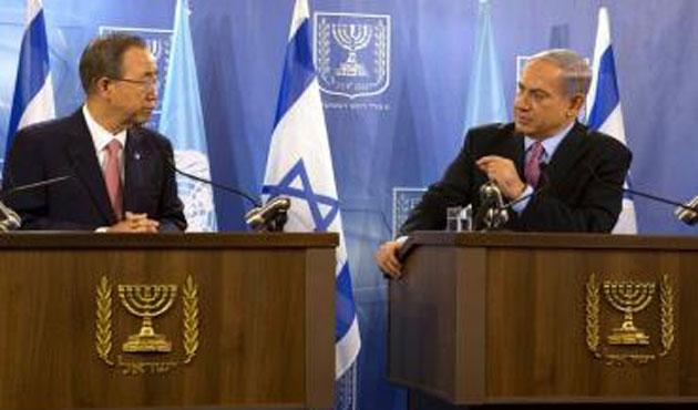 Gazze yerine İsrail'e giden Ban, Hamas'ı kınadı