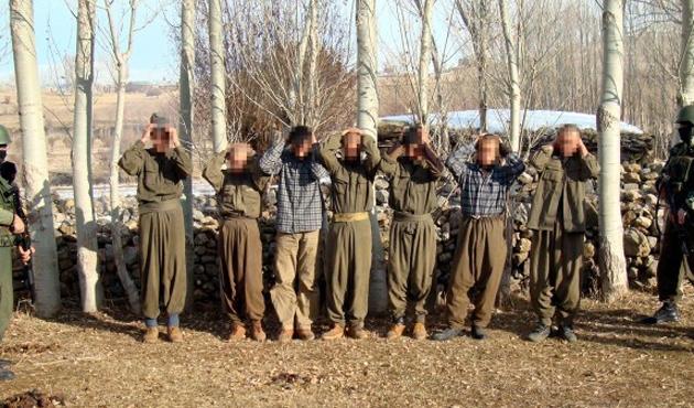 Hakkari ve Ağrı'da üç PKK'lı teslim oldu