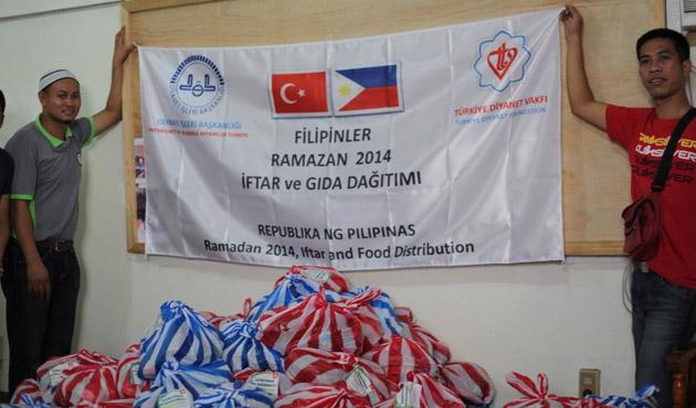 TDV'den Morolu Müslümanlara yardım