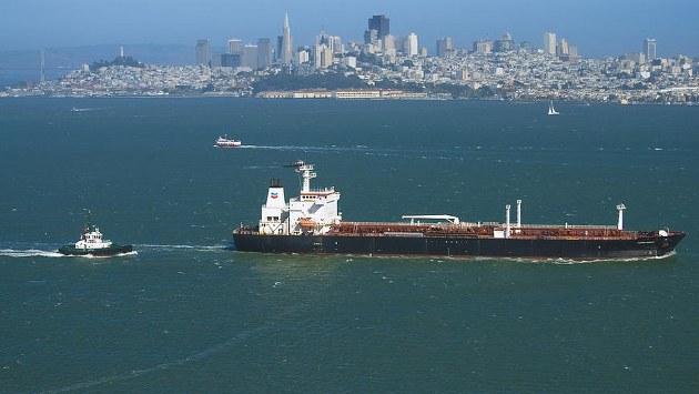 Kuzey Irak petrolünü taşıyan gemi ABD açıklarında
