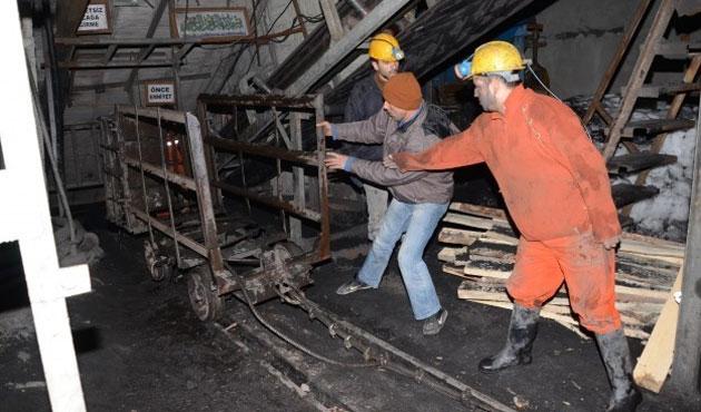 Zonguldak'ta kaçak madende göçük