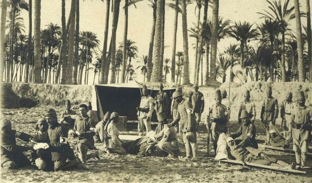 Arşivden çıkan 1. Dünya Savaşı fotoğrafları