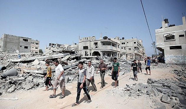 İsrail yıktığı Gazze'nin onarımını engelleyecek
