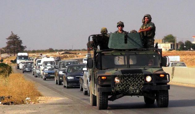 Suriye sınırında kaçırılan Lübnanlılar serbest bırakıldı