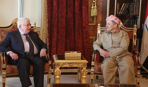 Barzani: Bir terör devletiyle savaşıyoruz